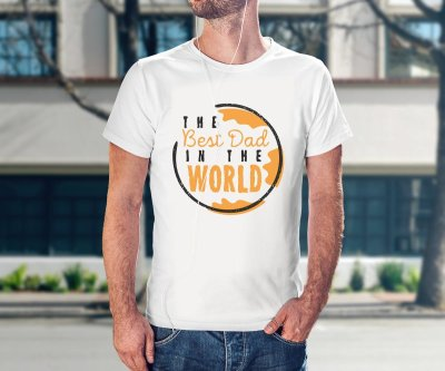 Camiseta Best Dad Intheworld
