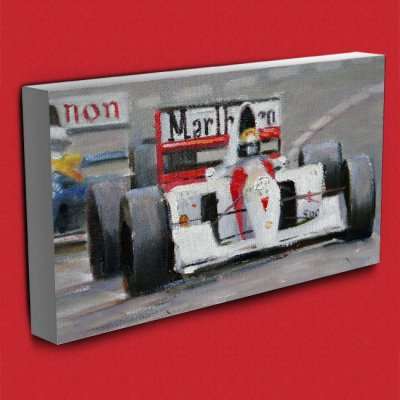 Quadro, Obra: Ayrton Senna (Close)